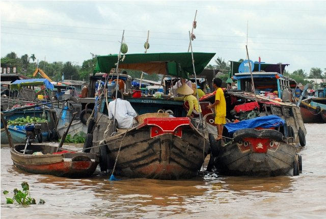 2 Tage Tour durch Mekong Delta