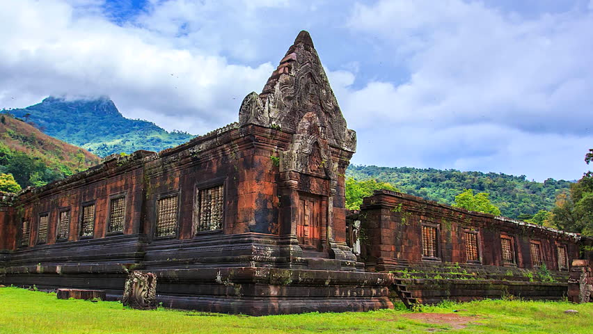 Wat Phou Laos Reisen Asiatica Travel