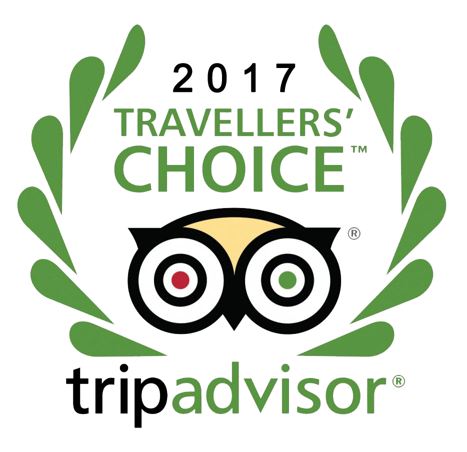 Tripadvisor Traveler's Choice Award 2017