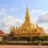 Pha That Luang, Laos Rundreise