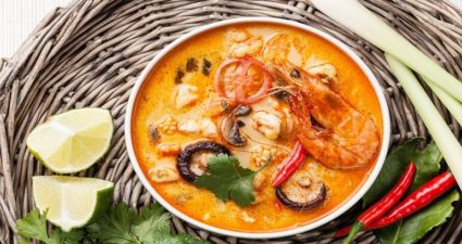 tom yum - Thai Essen
