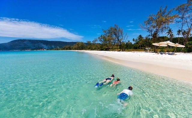 Schnorcheln in Koh Rong Insel